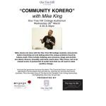 Community Korero One Tree Hill College 26 March 2014