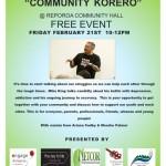 Community Korero Reporoa