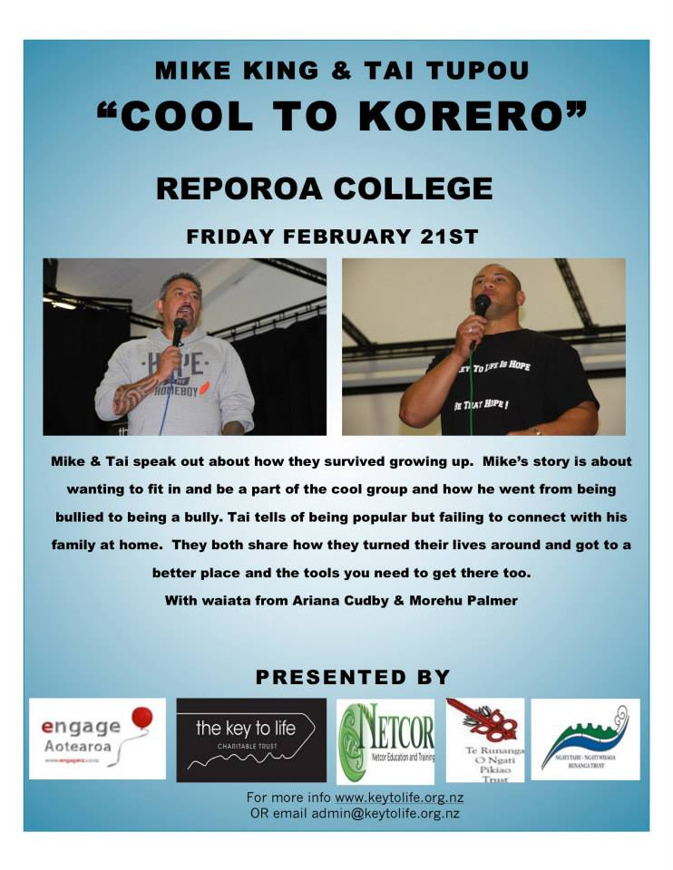 Cool to Korero Reporoa College