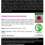 Feilding Hikoi Event 13 May 2013