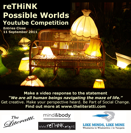 Possible Worlds Youtube Competition Flyer