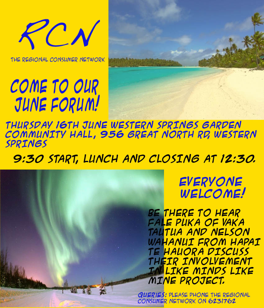 Flyer for June RCNet Forum 2011