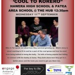 Hawera Cool to Korero 11 Sep 2013