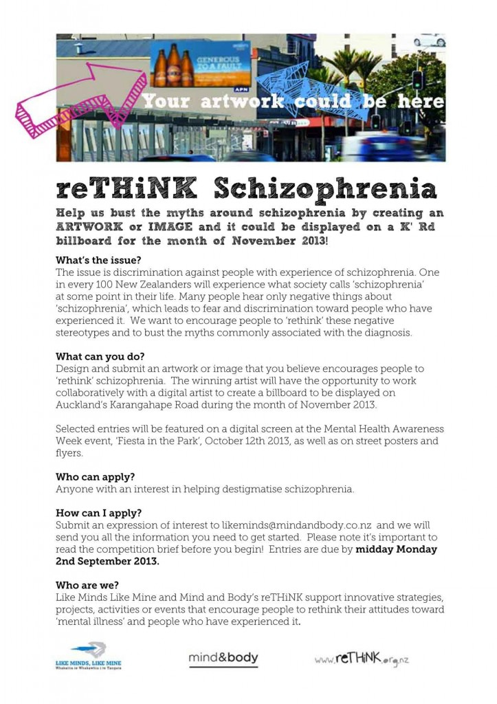 Rethink-Schizophrenia-Competition-date-extended